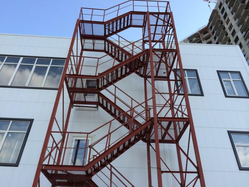 Лестница металлическая изготовление Санкт-Петербург