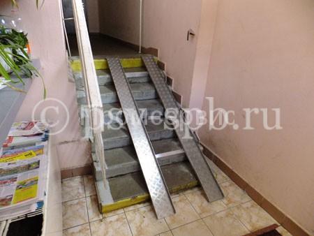 Пандусы и аппарели для инвалидов и детских колясок производство в СПб