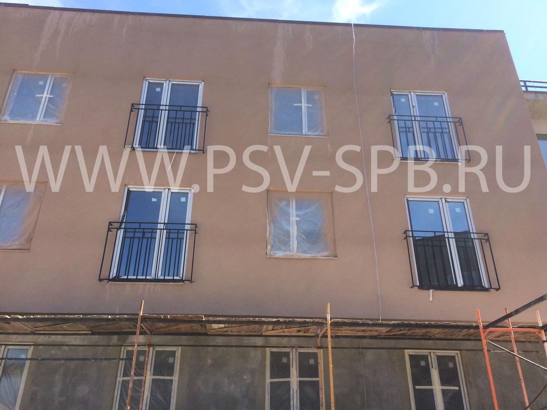 Балконные ограждения купить в СПб