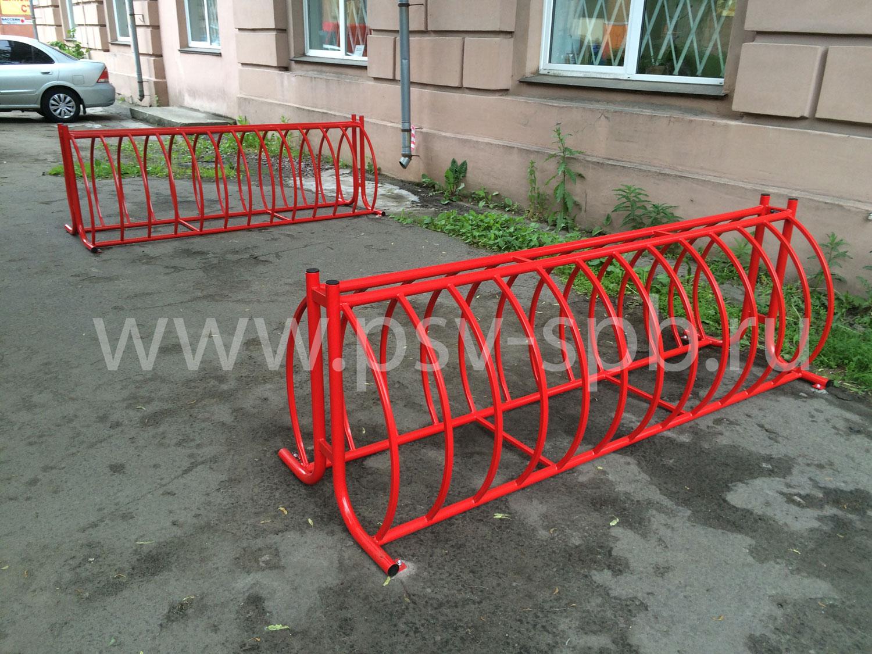 Велопарковка купить под заказ