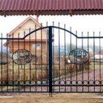 Цены на распашные ворота