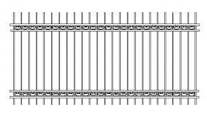 секции забор