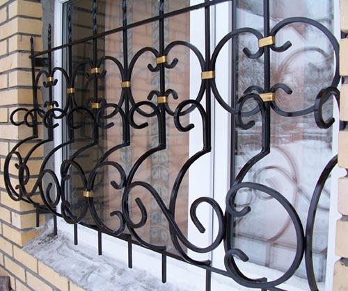 решетки металлические кованые производитель
