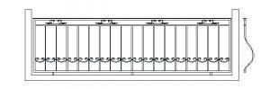 эскиз балконного ограждения