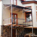 Балконные кованные ограждения