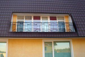 Балконное сварное ограждение
