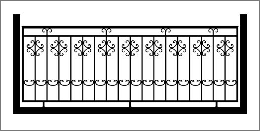Ограждения балконов металлические своими руками