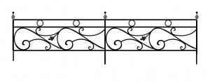 Ритуальные ограды изготовление и разработка эскизов
