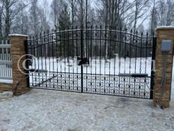 Ворота распашные