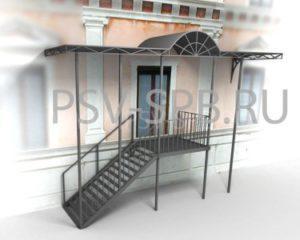 Лестница и навес в СПб
