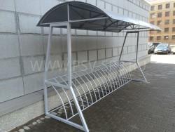Вело-парковка с навесом