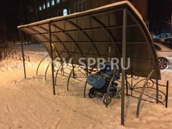 Велопарковки и парковки для детских колясок