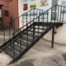 Металлические лестницы - виды