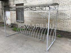 Парковка для велосипедов с навесом