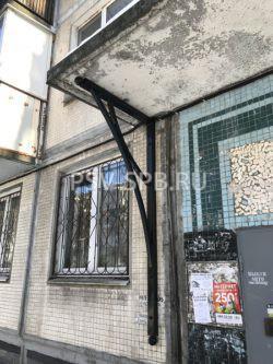 усиление бетонного козырька