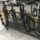 Велопарковка в паркинге под 45