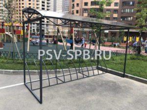 Велопарковка ВП-13 на 12 мест