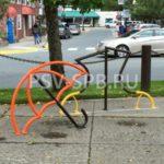 Декоративная велопарковка – зонт